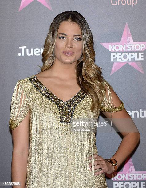 Alyson Eckmann attends the 'Non Stop People' Tv Channel launch at the Circulo de Bellas Artes on September 22 2015 in Madrid Spain