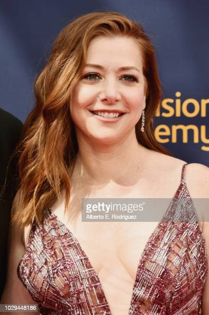 Alyson Hannigan attends the 2018 Creative Arts Emmy Awards at Microsoft Theater on September 8 2018 in Los Angeles California