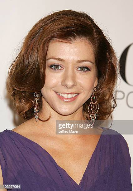 Alyson Hannigan during CBS/Paramount/UPN/Showtime/King World 2006 TCA Winter Press Tour Party Arrivals at The Wind Tunnel in Pasadena California...