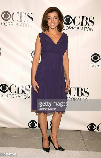 Alyson Hannigan during CBS/Paramount/UPN/Showtime/King World 2006 TCA Winter Press Tour Party - Arrivals at The Wind Tunnel in Pasadena, California,...