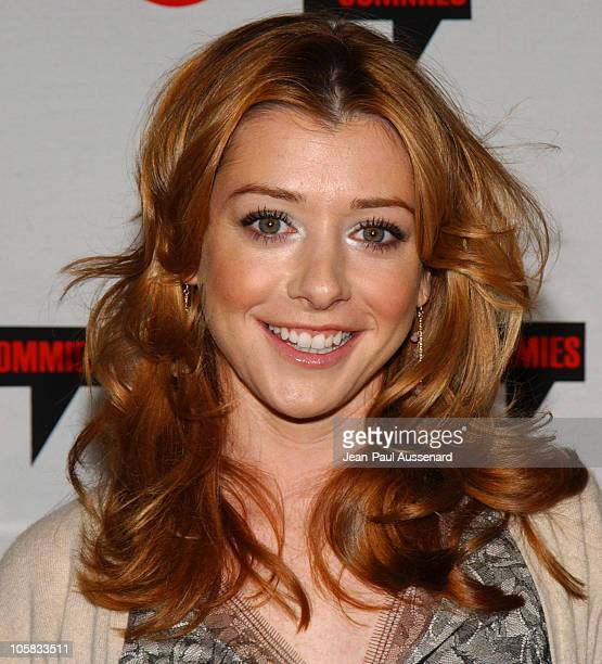 Alyson Hannigan during Comedy Central's First Annual Commie Awards Arrivals at Sony Studios in Culver City California United States