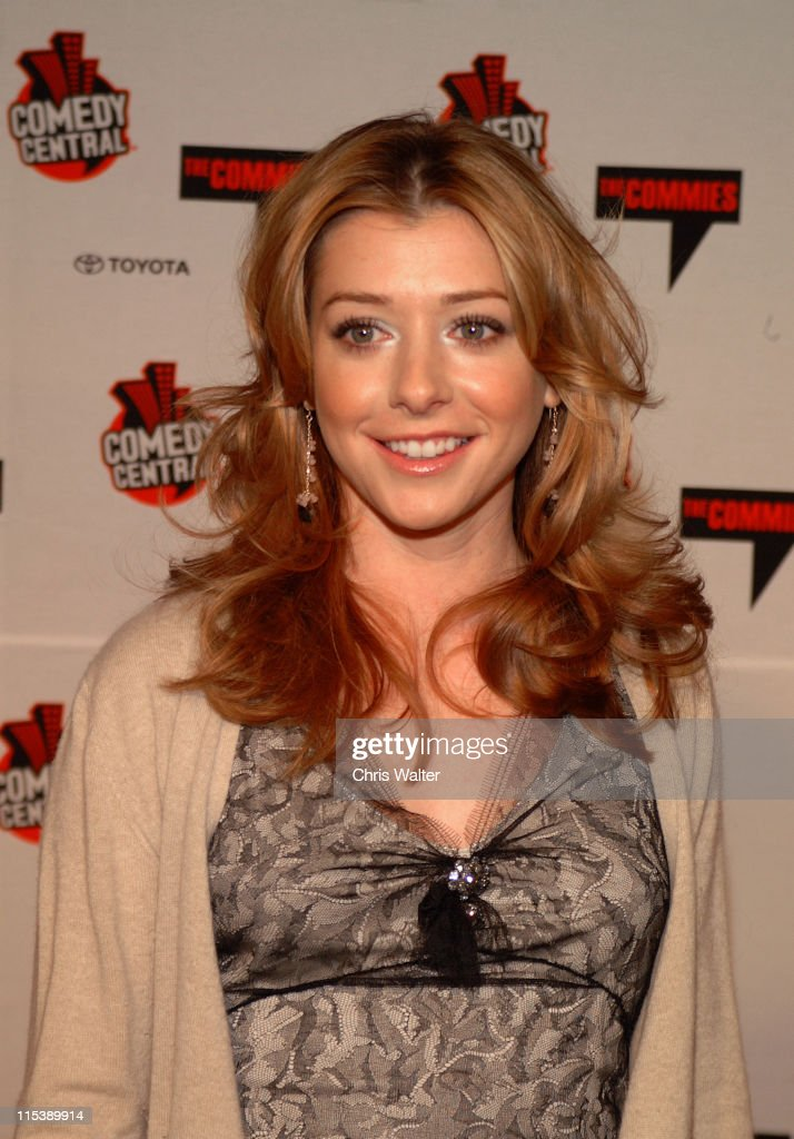 Alyson Hannigan during Comedy Central's First Annual Commie Awards - Arrivals at Sony Studios in Culver City, California, United States.