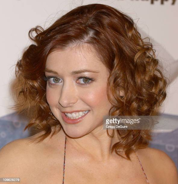 Alyson Hannigan during KROQ Valentine's Day Singles Screening of Date Movie Arrivals at AMC Avco Cinemas in Westwood California United States