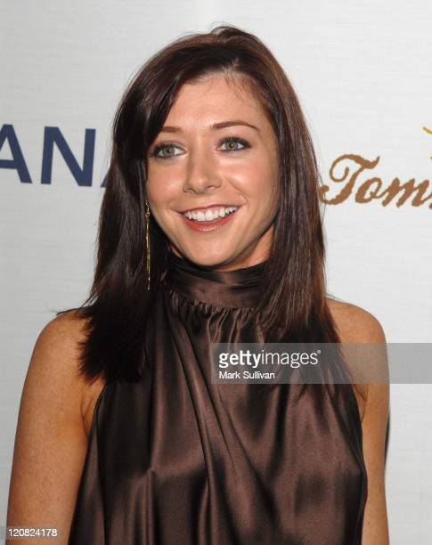 Alyson Hannigan during Oceana Celebrates 2006 Partners Award Gala Arrivals at Esquire House 360 in Los Angeles California United States