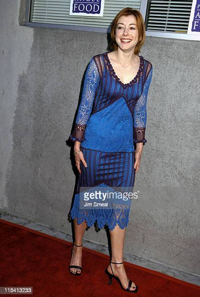 Alyson Hannigan during Project Angel Food Gala July 15 2000 in West Hollywood California United States