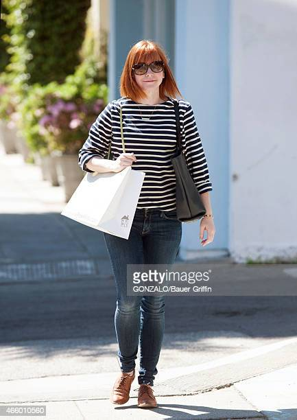 Alyson Hannigan is seen on March 12 2015 in Los Angeles California
