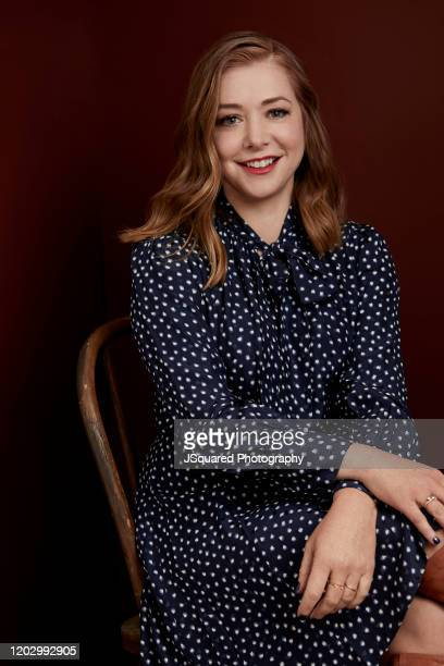Alyson Hannigan of Food Network's Girl Scout Cookie Championship poses for a portrait at the 2020 Winter TCA Portrait Studio at The Langham...