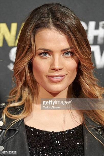 Alyson Rae Eckmann attends 'Una Noche Para Sobrevivir' premiere at the Kinepolis cinema on March 24 2015 in Madrid Spain