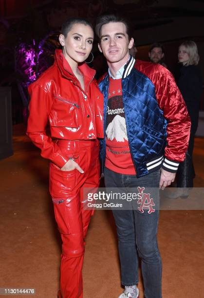 Alyson Stoner and Drake Bell attend Teen Vogue's Young Hollywood Party presented by Snap at Los Angeles Theatre on February 15 2019 in Los Angeles...