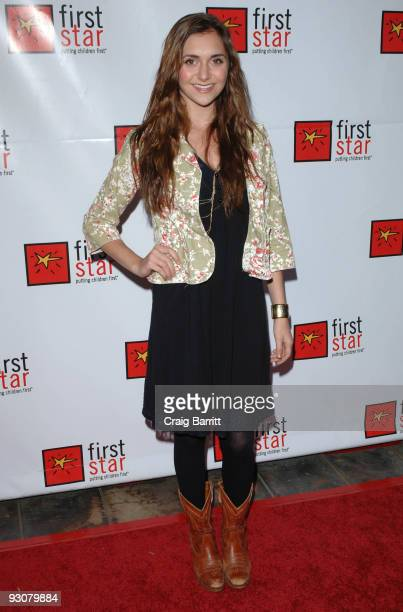 Alyson Stoner arriving at First Star's Celebration for Children's Rights at The Wilshire Ebell Theatre on November 15 2009 in Los Angeles California