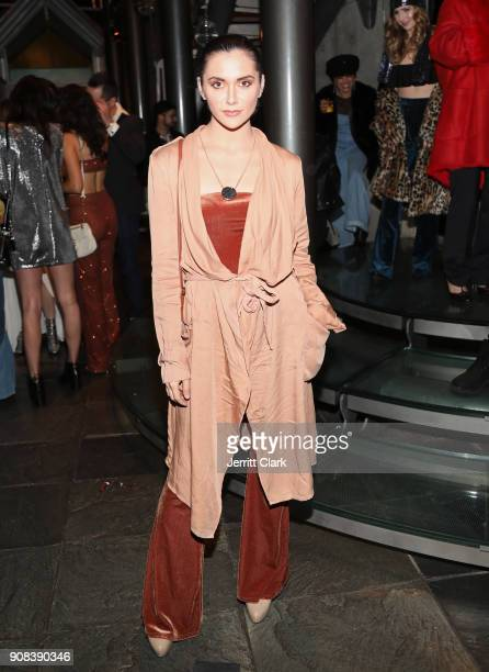 Alyson Stoner attends Montana Tucker's Disco Birthday Celebration at a Private Residence on January 20 2018 in Beverly Hills California