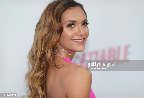 Alyson Stoner attends Netflix's 'Insatiable' season 1 premiere at ArcLight Hollywood on August 9 2018 in Hollywood California