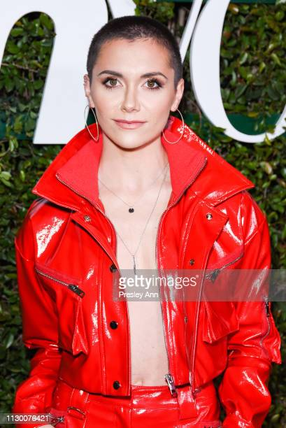 Alyson Stoner attends Teen Vogue's 2019 Young Hollywood Party Presented By Snap at Los Angeles Theatre on February 15 2019 in Los Angeles California