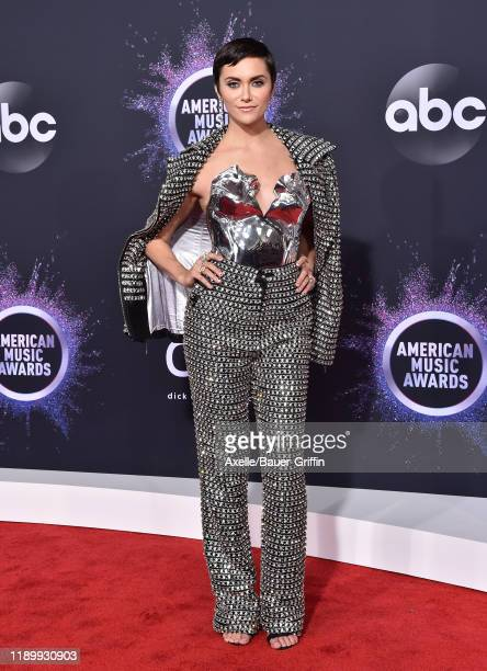 Alyson Stoner attends the 2019 American Music Awards at Microsoft Theater on November 24 2019 in Los Angeles California