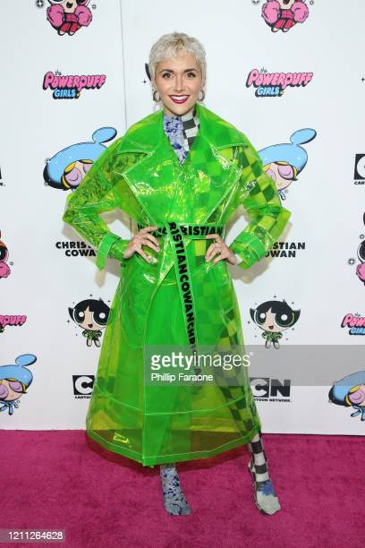 Alyson Stoner attends the 2020 Christian Cowan x Powerpuff Girls Runway Show on March 08 2020 in Hollywood California