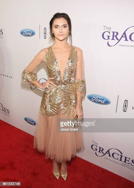 Alyson Stoner attends the 43rd Annual Gracie Awards at the Beverly Wilshire Four Seasons Hotel on May 22 2018 in Beverly Hills California