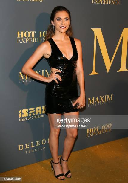 Alyson Stoner attends the Maxim Hot 100 Experience at Hollywood Palladium on July 21 2018 in Los Angeles California