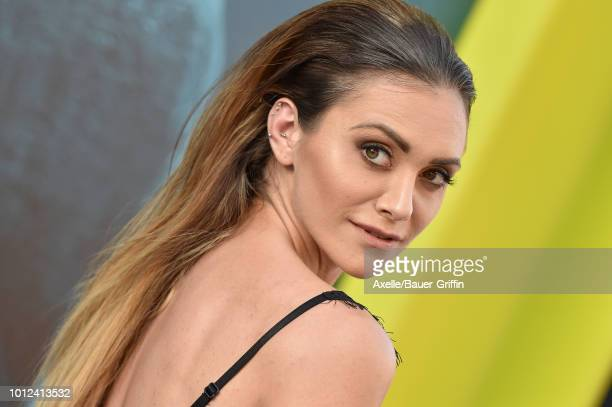 Alyson Stoner attends the premiere of Warner Bros Pictures and Gravity Pictures' 'The Meg' at TCL Chinese Theatre IMAX on August 6 2018 in Hollywood...