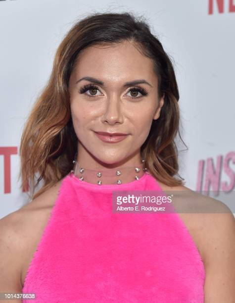 Alyson Stoner attends the Season 1 premiere of Netflix's 'Insatiable' at ArcLight Hollywood on August 9 2018 in Hollywood California