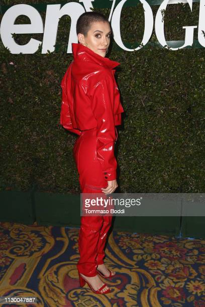 Alyson Stoner attends the Teen Vogue's 2019 Young Hollywood Party Presented By Snap at Los Angeles Theatre on February 15 2019 in Los Angeles...