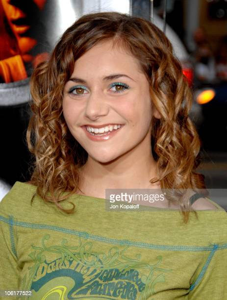 Alyson Stoner during 'Disturbia' Los Angeles Premiere Arrivals at Grauman's Chinese Theater in Hollywood California United States