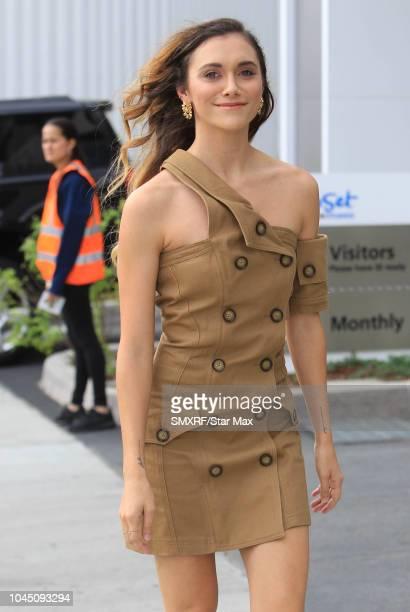 Alyson Stoner is seen on October 3 2018 in Los Angeles CA
