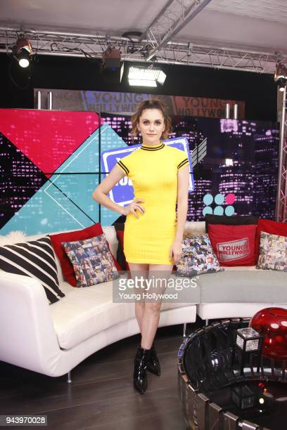 Alyson Stoner visits the Young Hollywood Studio on April 9 2017 in Los Angeles California