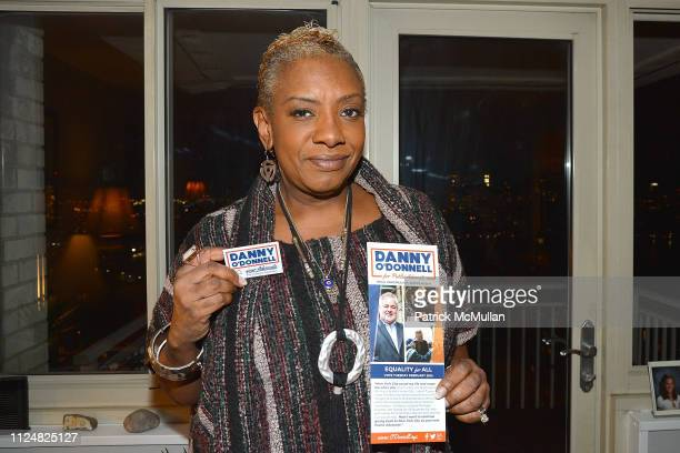 Alyson Williams attends the Danny O'Donnell For Public Advocate Event Before The February 26 Election at Private Residence on February 13 2019 in New...