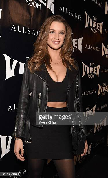 Alyssa Arce attends The Official Viper Room ReLaunch Party With Performance By X Ambassadors Dj Set By Zen Freeman at The Viper Room on November 17...