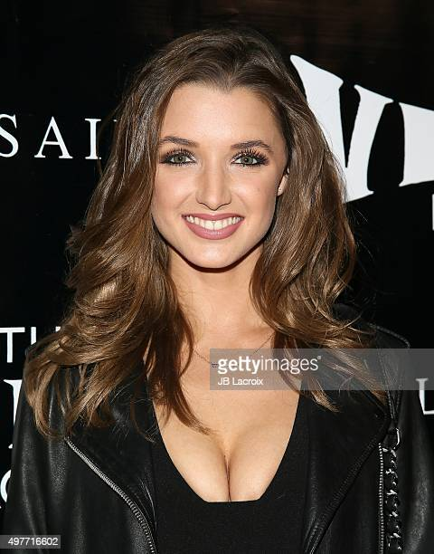 Alyssa Arce attends the Viper Room reLaunch party with X Ambassadors and Zen Freeman on November 17 2015 in West Hollywood California