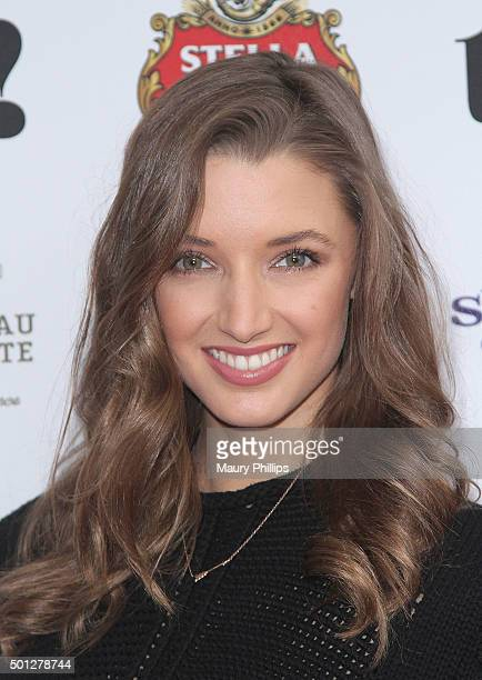 Alyssa Arce attends treats Issue 10 Holiday Brunch presented by Stella Artois and Chateau La Coste at Ysabel on December 13 2015 in West Hollywood...