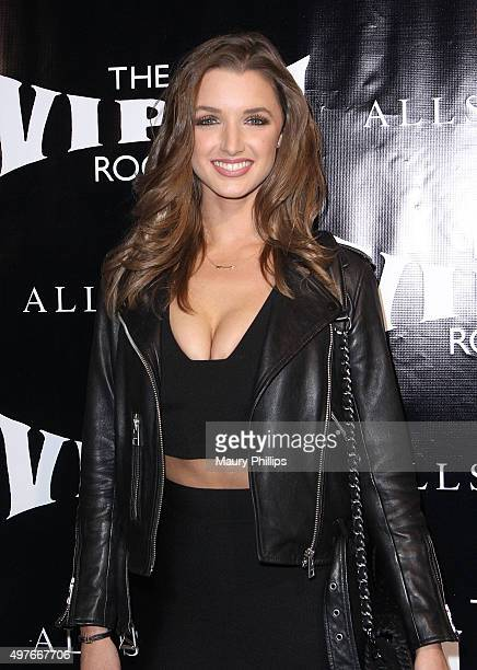Alyssa Arce attends Viper Room ReLaunch Party with X Ambassadors and Zen Freeman at Viper Room on November 17 2015 in West Hollywood California