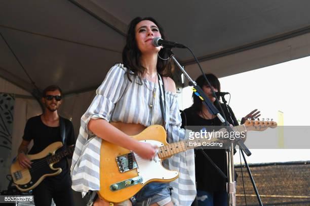 Alyssa Bonagura of the SisterHood performs at Pilgrimage Music Cultural Festival on September 24 2017 in Franklin Tennessee