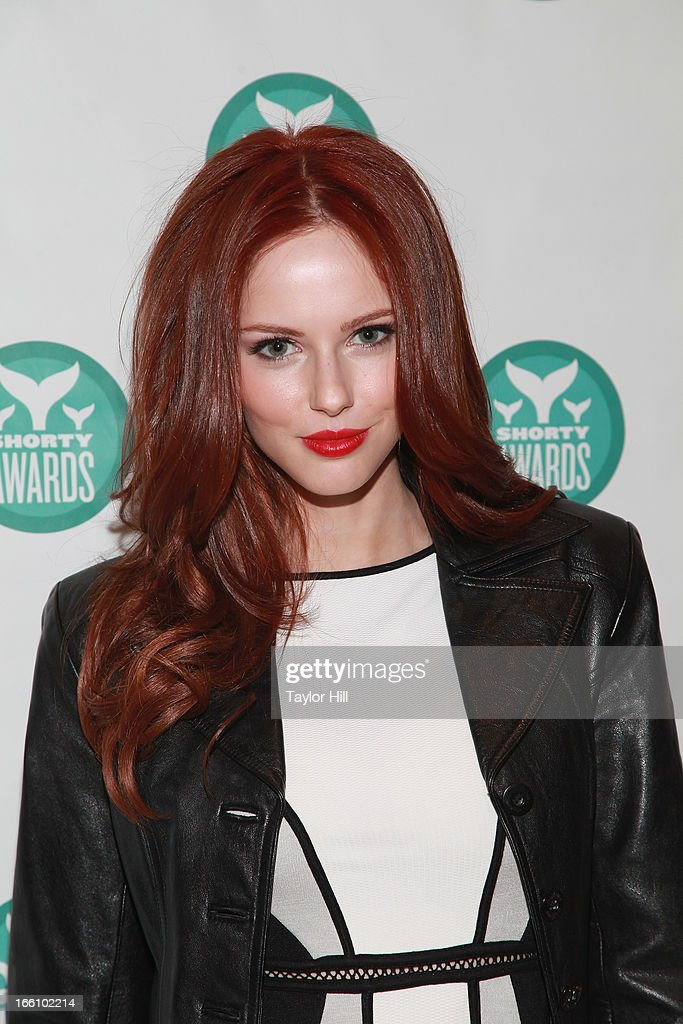 Alyssa Campanella attends the 2013 Shorty Awards at Times Center on April 8, 2013 in New York City.