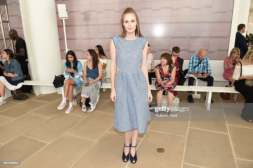 Monique Lhuillier - Front Row - September 2016 - New York Fashion Week