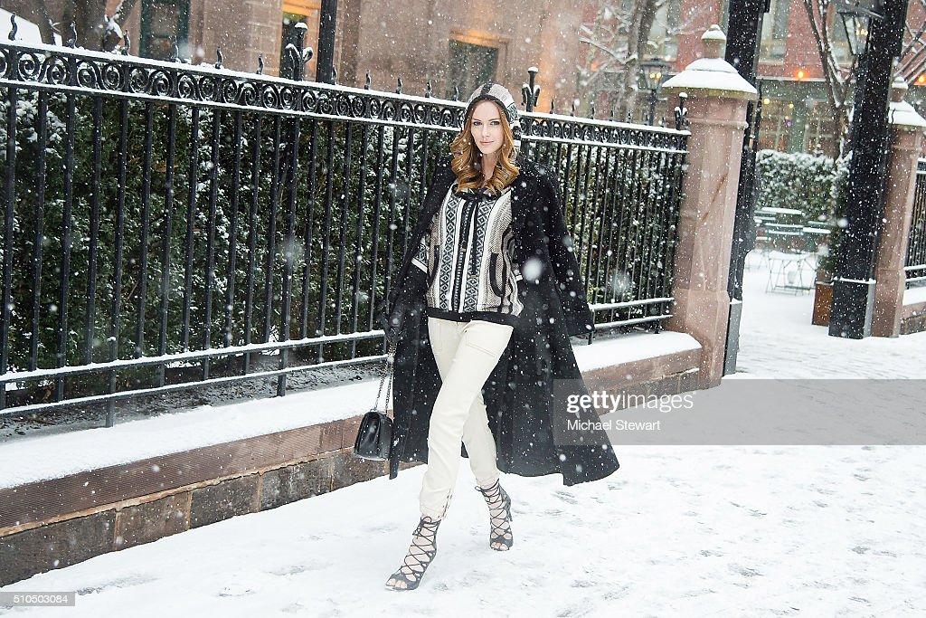 Seen Around Fall 2016 New York Fashion Week - Day 5