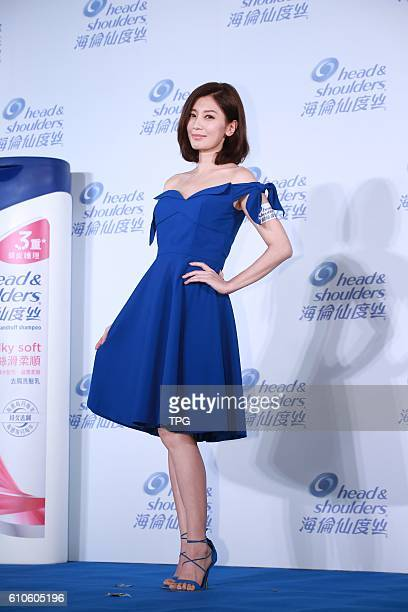 Alyssa Chia promotes for Head Shoulders on 26th September 2016 in Taipei Taiwan China