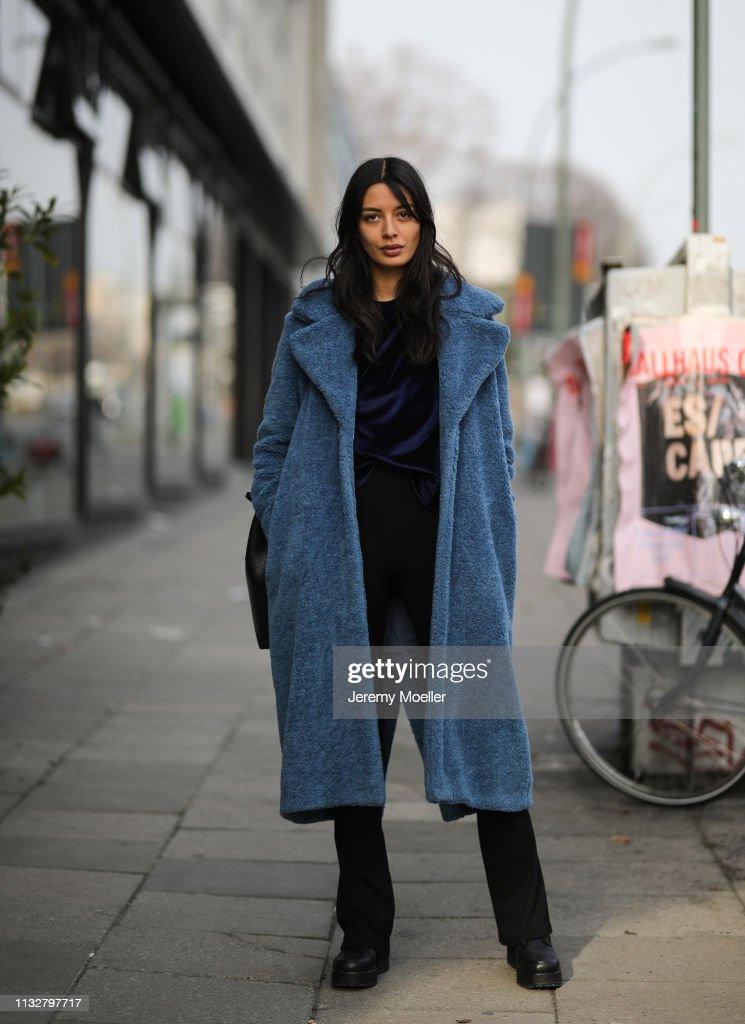 Street Style - Berlin - February 28, 2019 : News Photo