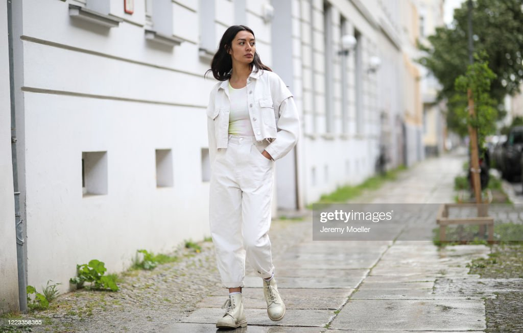 Street Style - Berlin - May 5, 2020 : News Photo
