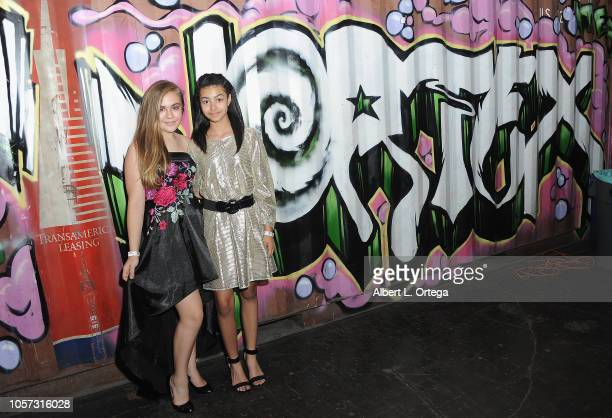 Alyssa de Boisblanc and Journey Slayton attend Star For A Night To Benefit Cancer For College held at The Vortex on November 3 2018 in Los Angeles...