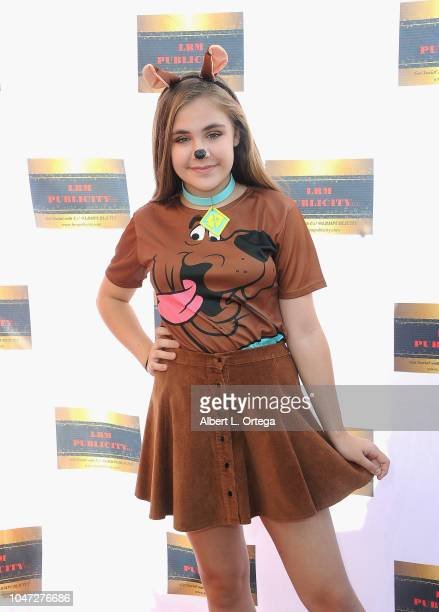 Alyssa de Boisblanc arrives for Jax Malcolm's 3rd Annual #ActionJax Movie Morning Fundraiser held at the Vista Theatre on October 7 2018 in Los...