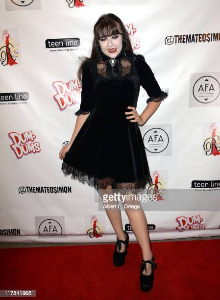 Alyssa de Boisblanc attends Mateo Simon's Annual Teen Line Charity Halloween Bash held at a Private Location on October 26 2019 in Burbank California