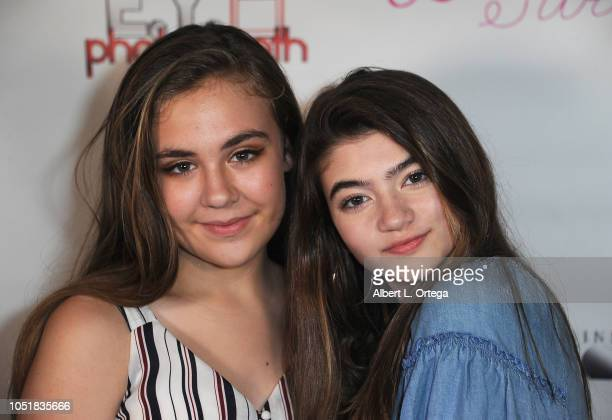 Alyssa de Boisblanc poses with Samantha Gangal at the Music Video Release Party For Bria's 'You Already Had Your Chance' held at Busby's East on...