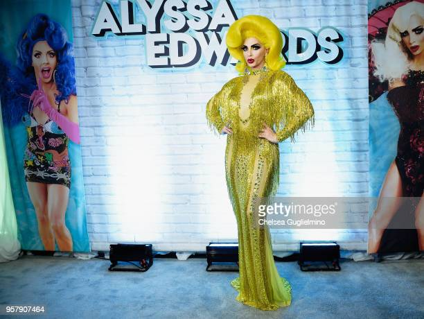 Alyssa Edwards attends 4th annual RuPaul's DragCon at Los Angeles Convention Center on May 12 2018 in Los Angeles California