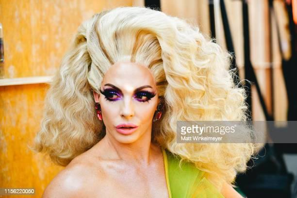 Alyssa Edwards attends the 2019 MTV Movie and TV Awards at Barker Hangar on June 15 2019 in Santa Monica California