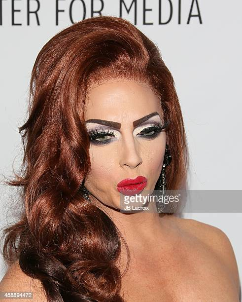 Alyssa Edwards attends The Paley Center for Medias 2014 LA Benefit Gala presented by Honey Maid celebrating LGBT equality in media at the Skirball...