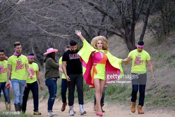 Alyssa Edwards hosts Camp TAZO an overnight camp where adults take a break from their routine and explore unexpected on March 15 2019 in Marble Falls...