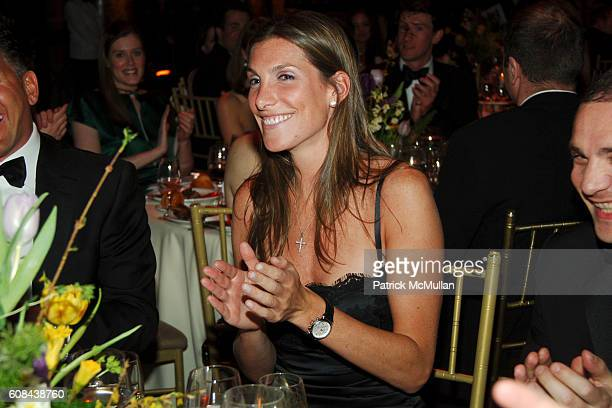 Alyssa Fanelli attends PAUL TAYLOR Dance Company 2007 New York Season Gala at Cipriani 42nd on March 6 2007 in New York City