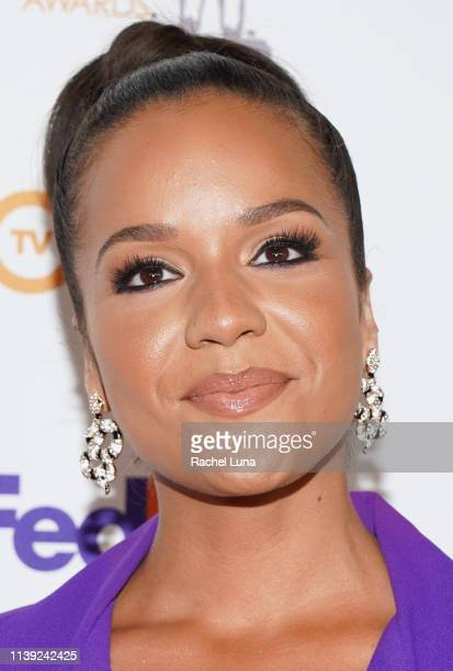 Alyssa Goss attends the 50th NAACP Image Awards NonTelevised Dinner at Beverly Hilton Hotel on March 29 2019 in Beverly Hills California