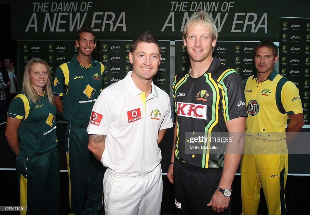 Cricket Australia Asics Uniform Launch